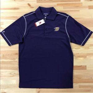 Baltimore Ravens Purple Polo